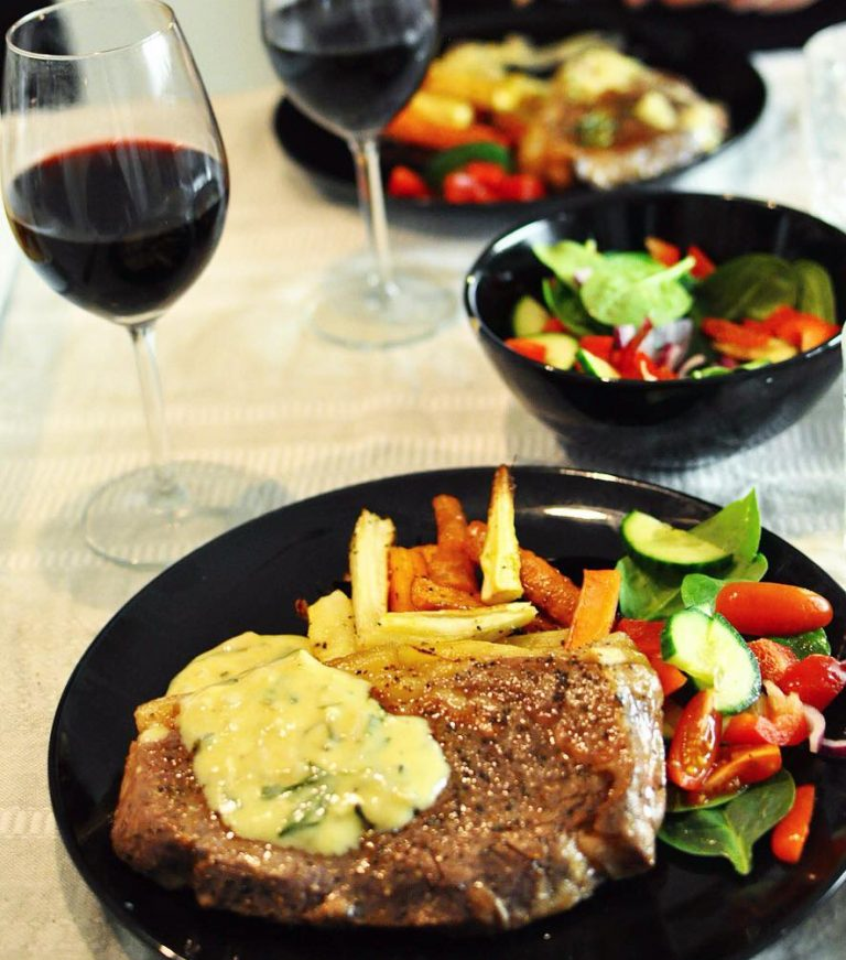 Sous Vide Rib Eye Steak