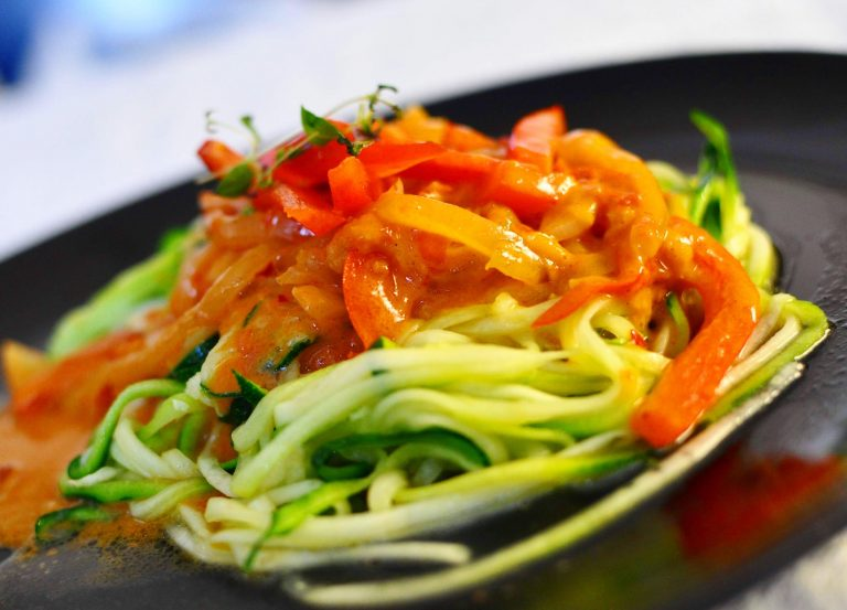 Vegan Thai Curry with Zoodles
