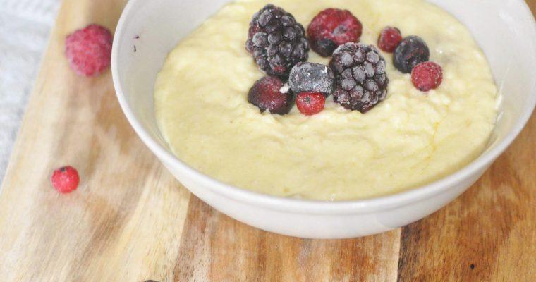 Keto porridge recipe
