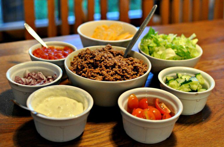 Hur jag äter tacos på LCHF