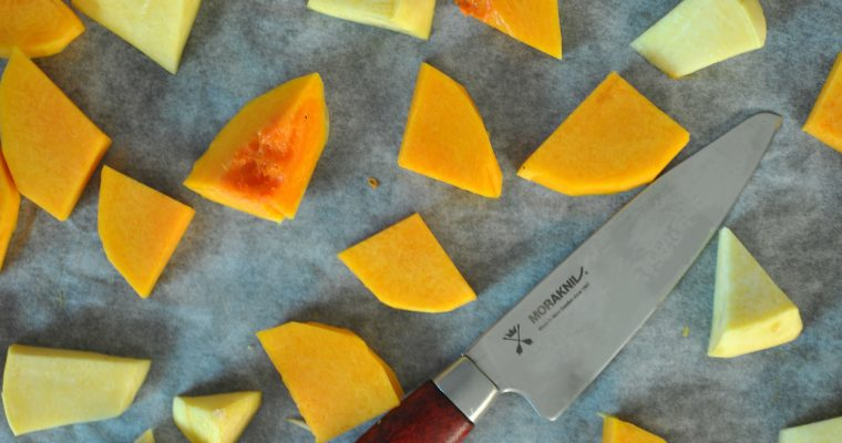 Oven-roasted butternut squash