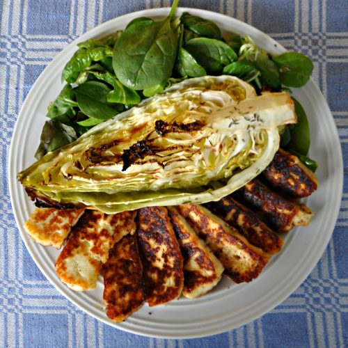 Oven-Roasted Sweetheart Cabbage