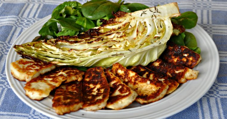 Oven-Roasted Sweetheart Cabbage Keto Recipe