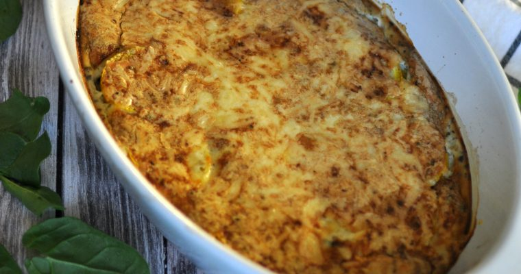 Zucchini Casserole Keto Recipe