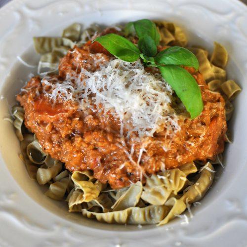 Vegetarian Bolognese Keto Recipe Low Carb
