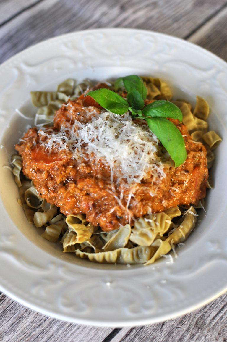 Vegetarian Bolognese Keto