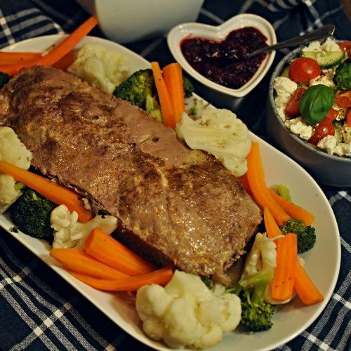 Köttfärslimpa LCHF Recept